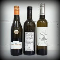 kleine Flaschen, Wein, 3-er Set, SCHWEIZ, Weisswein, 3x0.375l